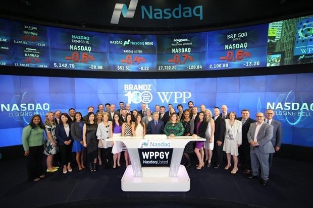 WPP Closing Bell Photo